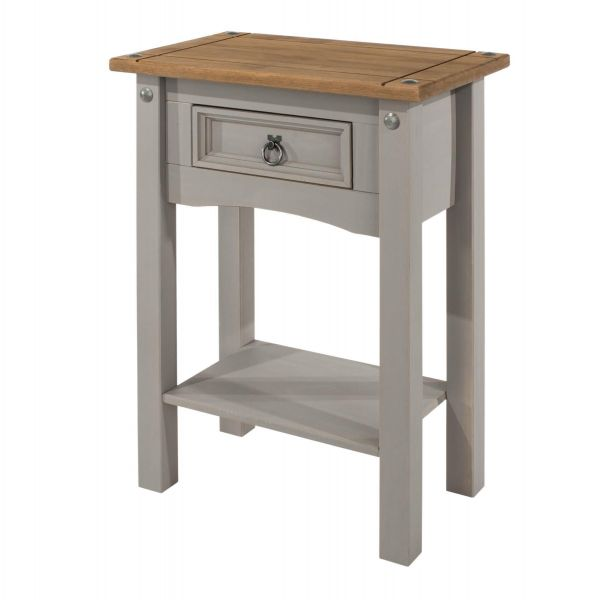 Corona Grey 1 Drawer Hall