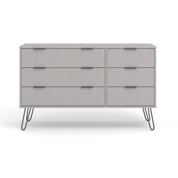 Henley Grey 6 Drawer Chest