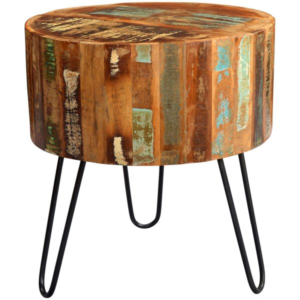 Beverly Drum Side Table