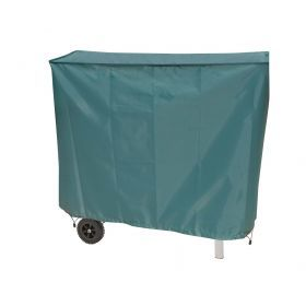 XL green barbecue cover with adjustable rope